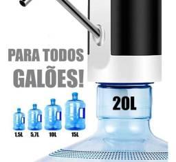 Título do anúncio: Bebedouro Bomba Elétrica P Garrafão Galão Água Recarregável