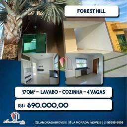 Título do anúncio: Forest Hill - Casa Duplex, 170m2, 3 suites, 4 vagas
