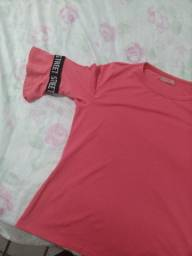 Blusa de manga longa STREET rosa, tamanho M