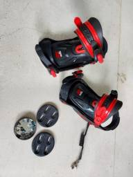 Bindings para Snowboard ou Sandboard Nideckers S460