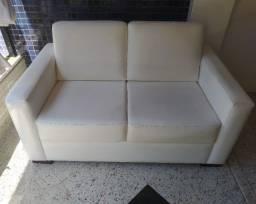 Título do anúncio: Vendo sofá branco - dois lugares