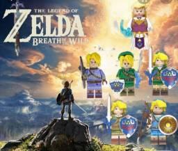 Bonecos minifiguras compatíveis com Lego Zelda