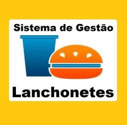 Título do anúncio: Sistema de Gestão/Caixa/Estoque/Financeiro para Lanchonetes, Cantinas, Pizzarias e afins