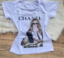 Título do anúncio: Blusinha T-shirt estilosa