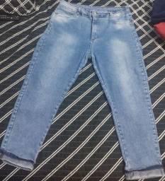 Calça jeans sawary 52 com strech