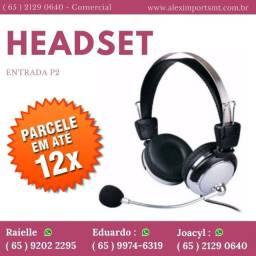 Headset ara Jogos e Pc Fone Audio com Microfone e Audio