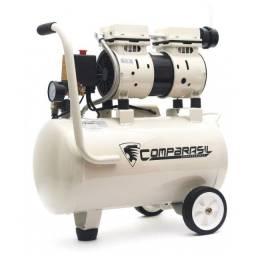 Compressor Silencioso Usk Compbrasil 24 Litros 220v