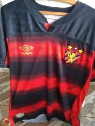 Camisa 1° Sport Recife 20/21 (autografada)