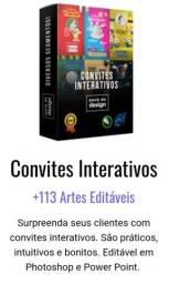 Título do anúncio: Convites Interativos<br><br>
