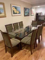 Mesa jantar 8 lugares