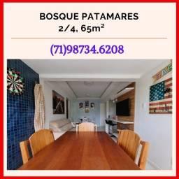 Bosque Patamares, 2 quartos em 65m² com 1 vaga de garagem em Patamares - Oportunidade
