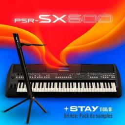 PSR sx600 com estante Stay 1100/01