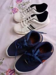 Título do anúncio: Dois pares de sapatos( infantil)