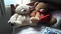 2 Urso de pelucia
