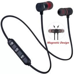 Título do anúncio: Fone de ouvido bluetooth 5.0 sem fio, estéreo, esportivo, com microfone