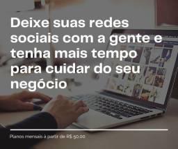 Cuidamos da rede social da sua empresa