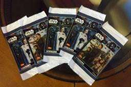 Pacotes de figurinhas lacrados Star Wars Rougue One