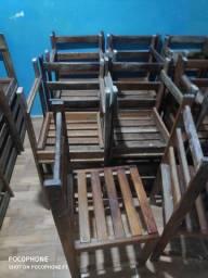 cadeira de madeira 24 unidade