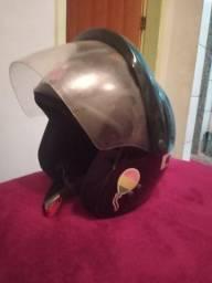 Vendo capacete aberto