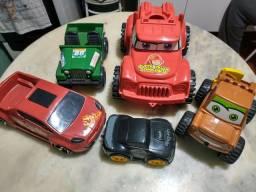 5 carros
