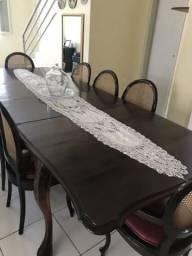 Sala de jantar de jacarandá