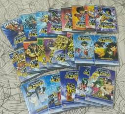 Coleção em 21 dvds Os Cavaleiros do Zodíaco