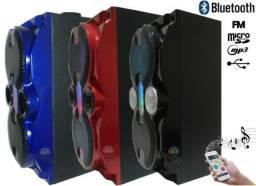 Caixa De Som Portátil Wi-fi Bluetooth D-bh2807 Alta Potência