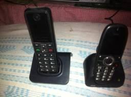 Telefone fixo Alcatel e telefone fixo ZTE