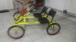 Bicicleta Quadribike