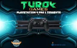 PlayStation 4 Pro 1tb - loja física - cartões até 12x