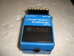 Pedal Boss Compressor Sustainer CS 3 na Musical Brother