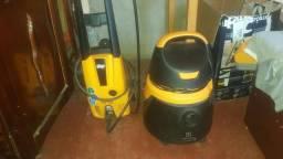 Vendo lavadora de alta pressão wap e aspirador de pó e água electrolux