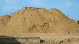 Areia brita e pedra