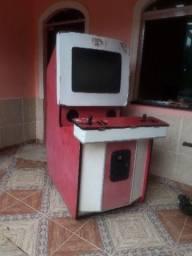 Máquina de jogo fliperama