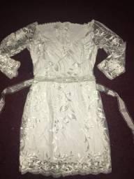 Vestido de noiva dois em um