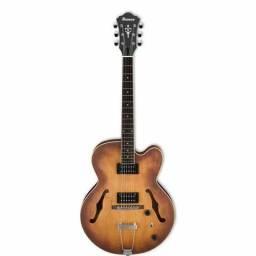 Guitarra Ibanez Semi Acústica AF 55 TF Marrom