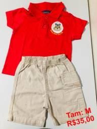 8009bf2ef4543 Conjuntos de Camisa Polo + Bermuda infantil