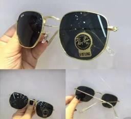 b9256a519 Óculos de Sol Ray Ban Hexagonal Tradicional RB3548 Novo Unissex
