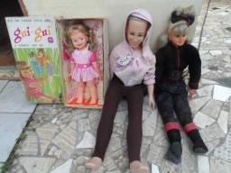 Bonecas antigas xuxa vanessa camargo e gui gui