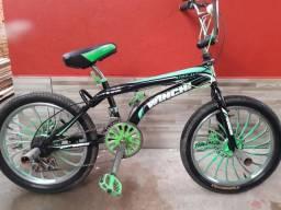 Bicicleta Cross pra vender logo