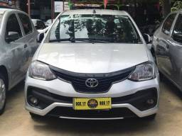 Toyota Etios 2018 + GNV (Único Dono, taxa 0,65%) - 2018