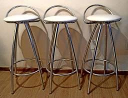 Banquetas em aluminio