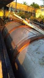 Tanque em aço inox 304