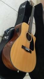 Violão Folk Fender Classic Design Cd-60ce Eletroacústico