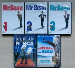DVDs Senhor dos Anéis, Piratas do Caribe, Matrix, mr Bean