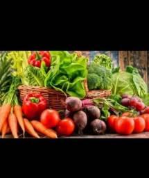 Venda de verduras e legumes