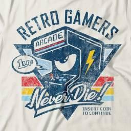 Camiseta Retro Gamers Arcade