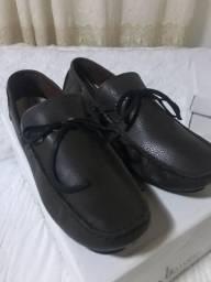 Sapato masculino marrom tamanho 40