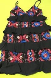Vendo vestido bordado