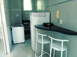 Quitinete semi-mobiliado 01 suite com ar-condicionado 01 andar